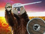 Grizzly with a Sword Avatar